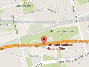 Fort York National Historic Site 250 Fort York Blvd, Toronto, ON M5V 3K9, Canada